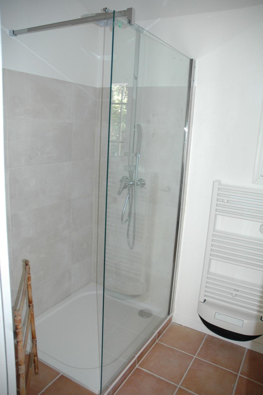 L'espace douche (80x160)